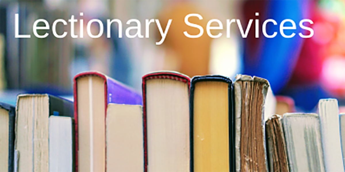 Lectionary Services – July