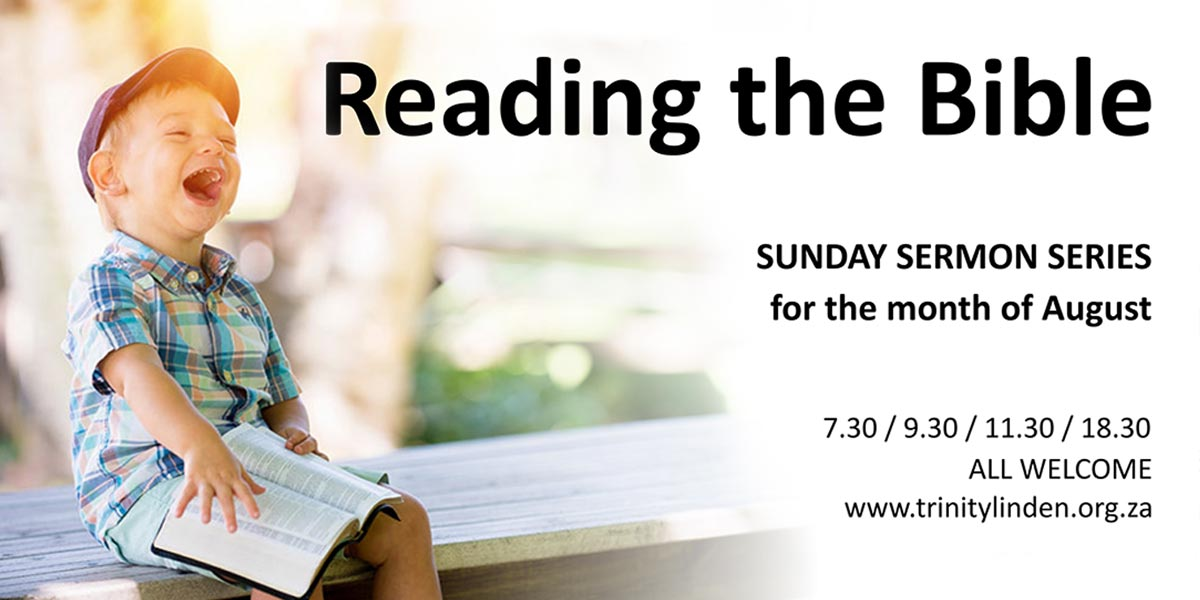 Reading The Bible – August