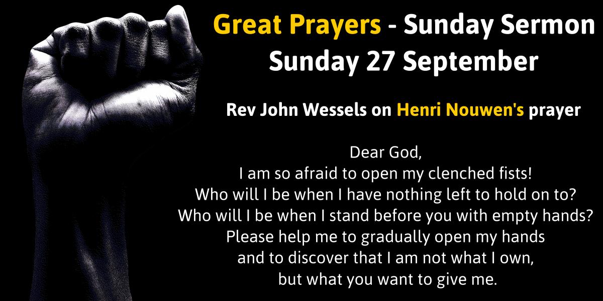 Great Prayers: Henri Nouwen